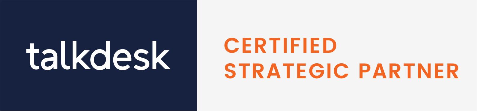 Talkdesk certified partner